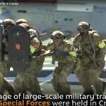 Đặc nhiệm Nga nhảy dù, lặn ngầm tấn công khủng bố (video) - VietTimes