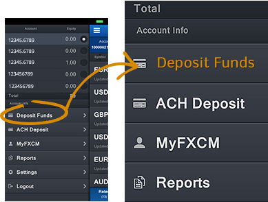 fxcm deposit