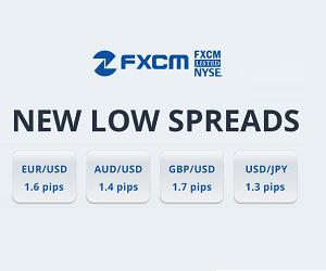 fxcm spreads