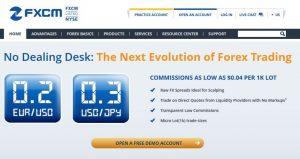 fxcm dealing desk