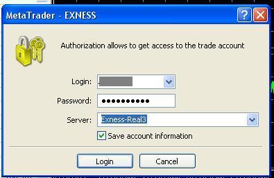 exness login