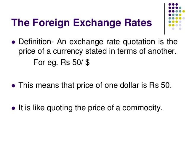 fx rate definition