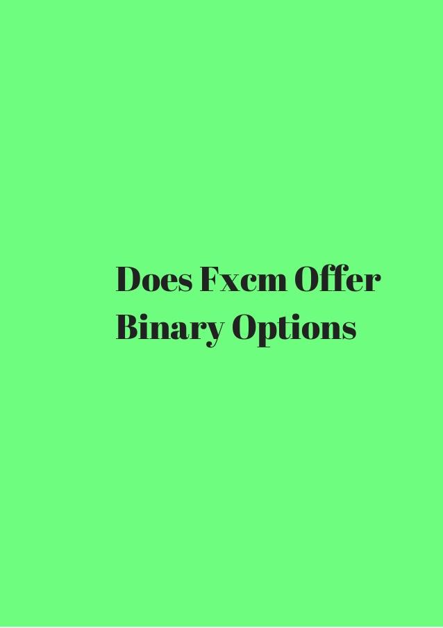 fxcm options