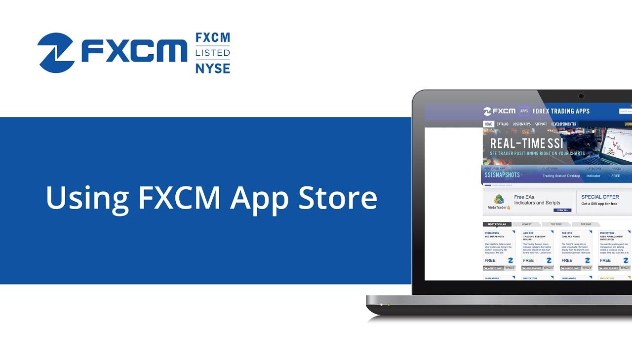 fxcm app store