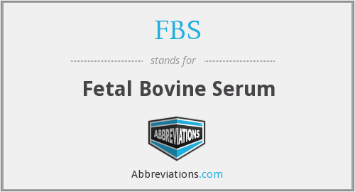 what is fbs stand for