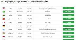 xm schedule